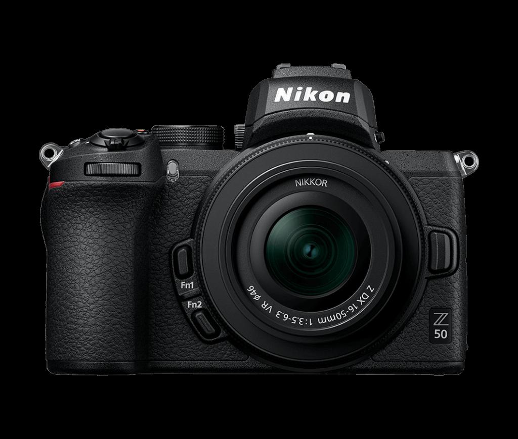 Nikon Z50 con 16-50 DX VR